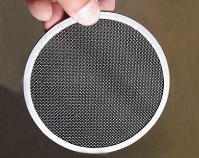 Black Wire Cloth Filter Disc for Rubber & Oil Industry
