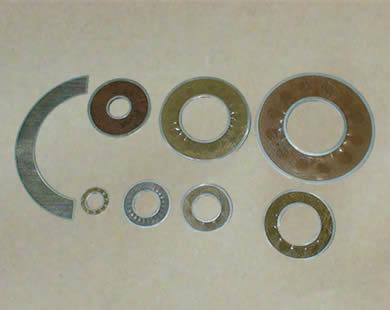 Bronze filter with different sizes and shapes.